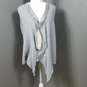 Eileen Fisher Vest Sweater Sleeveless 1X Plus Size